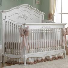 4 In 1 Convertible Crib Sets by Dolce Babi Angelina 2 Piece Nursery Set In Pearl Crib Double