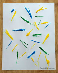 art project for kids using spaghetti noodles planning playtime