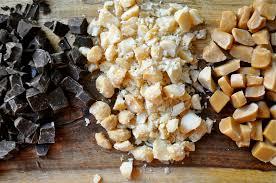 Smitten Kitchen Blondies Brown Butter Blondies With Macadamia Nuts Caramel And Dark Chocolate