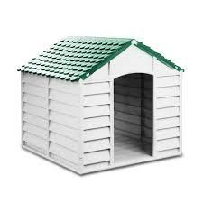 cuccia per cani da esterno tutte le offerte cascare a homegarden cuccia per cani in pvc per esterno colore grigio chiaro