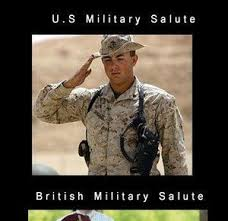 Funny Military Memes - military salutes by ben meme center