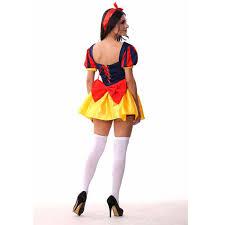 Snow White Halloween Costume Women Aliexpress Buy Snow White Halloween Costume Dress