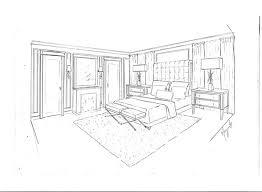 dessiner une chambre en perspective chambre en perspective dessin en perspective d une chambre