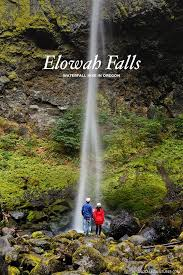 Oregon Waterfalls Map by Latourell Falls Hike Easy Waterfall Hikes Near Portland