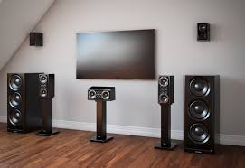 home theater floor speakers xtz cinema series m6 and s5 speaker system review youtube