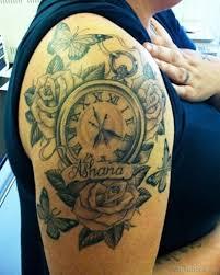 50 brilliant clock tattoos on arm