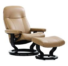 Stressless  Garda Leather Recliner with Classic Base
