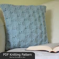 Wedding Gift Knitting Patterns The Perfect Present Pillow