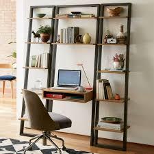 Ladder Bookcase Desk by Ladder Shelf Storage Desk West Elm Uk