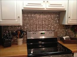 Kitchen  Copper Tile Backsplash Brick Backsplash Fake Backsplash - Tin tile backsplash