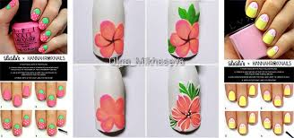12 step by step summer nail art tutorials for learners 2017