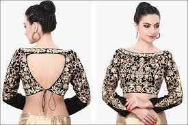 blouse pic different blouse styles to accentuate ethnic saree look times