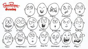 how to draw 20 different emotions youtube