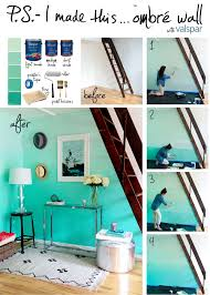 how to diy home decor diy parede degradê ombre walls and diy ombre