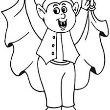 97 count dracula halloween coloring free printable