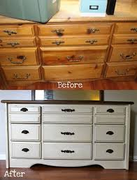 Painted Bedroom Furniture Before And After by 20 Best White Dressers Images On Pinterest White Dressers