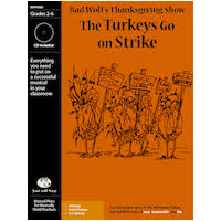 the turkeys go on strike and easy thanksgiving play for