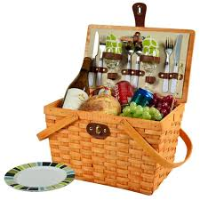picnic gift basket at ascot frisco traditional american style picnic basket with