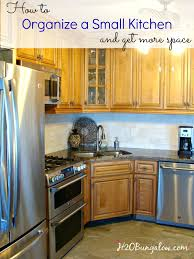 organize kitchen how to organize a small kitchen and get more space