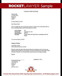 Loan Outstanding Letter collection letter sle demand letter rocket lawyer