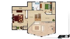 2d floor plans neezo renders campagnarde 07 mezzanine final