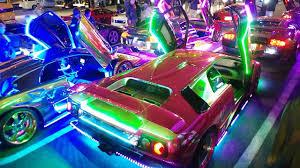 inside lamborghini limo lighting up tokyo japan u0027s custom supercar crew youtube