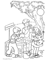 pictures color print kids coloring
