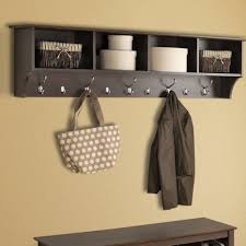 mudroom leather storage bench storage bench with coat rack long