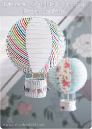 How To Make Paper Air Balloon Lantern - how to make a air balloon to fly in your house diy for