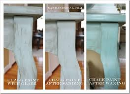 How To Refinish A Table Sand And Sisal by Painting With Chalk Paint Sand And Sisal