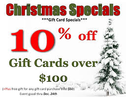 gift card specials town nail spa home