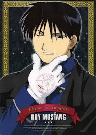 colonel mustang roy mustang fullmetal alchemist absolute