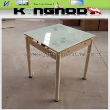 retractable glass dining table retractable glass dining table