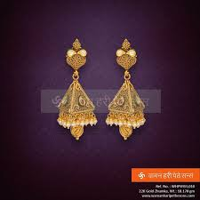 trendy gold earrings 379 best buttalu images on indian jewelry gold