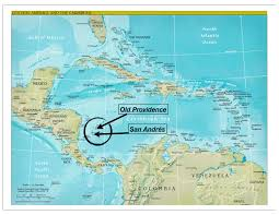 Map Of Caribbean And Central America by Kartor Karibien Maps Caribbean