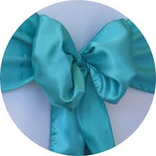 Chair Sash Rental Chair Sash Rental Satin Sash Turquoise Chair Cover Rentals