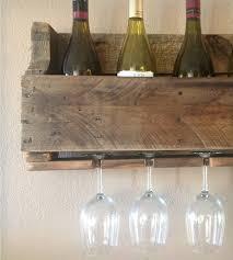 salvaged wood wine rack 8 bottle home kitchen u0026 pantry del