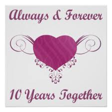 10th wedding anniversary 10th anniversary cliparts free clip free clip
