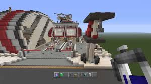 minecraft modern city hospital bunnings warehouse fire station