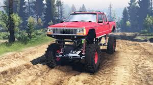 jeep comanche pickup truck pre jeep grand cherokee comanche 4x4 v2 0 for spin tires