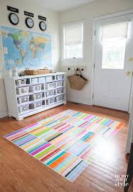 Rug Painting Ideas How To Paint A Rug On The Floor In My Own Style