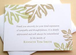 sympathy thank you notes customizable sympathy thank you card 11