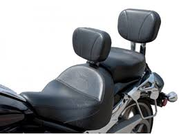 midrider seat passenger seat driver backrest and sissy bar pad