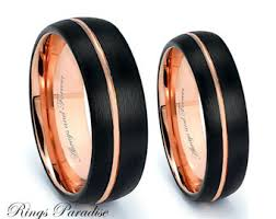 matching wedding bands his and hers matching wedding bands etsy
