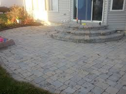 Stone Paver Patio Ideas by Brick Paver Patio Cost Interior Home Design