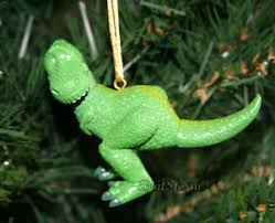 disney toy story rex green tyrannosaurus dinosaur christmas