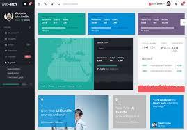menu templates for bootstrap 20 free premium bootstrap admin dashboard templates envato