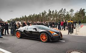 2013 Bugatti Veyron 16 4 Grand Sport Vitesse Top Speed Run Motor