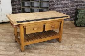 kitchen work table island a butcher block table island can increase the of your