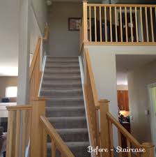 Wrought Iron Banister Rails Staircase Remodel Wrought Iron Banister Railing Dark Stained